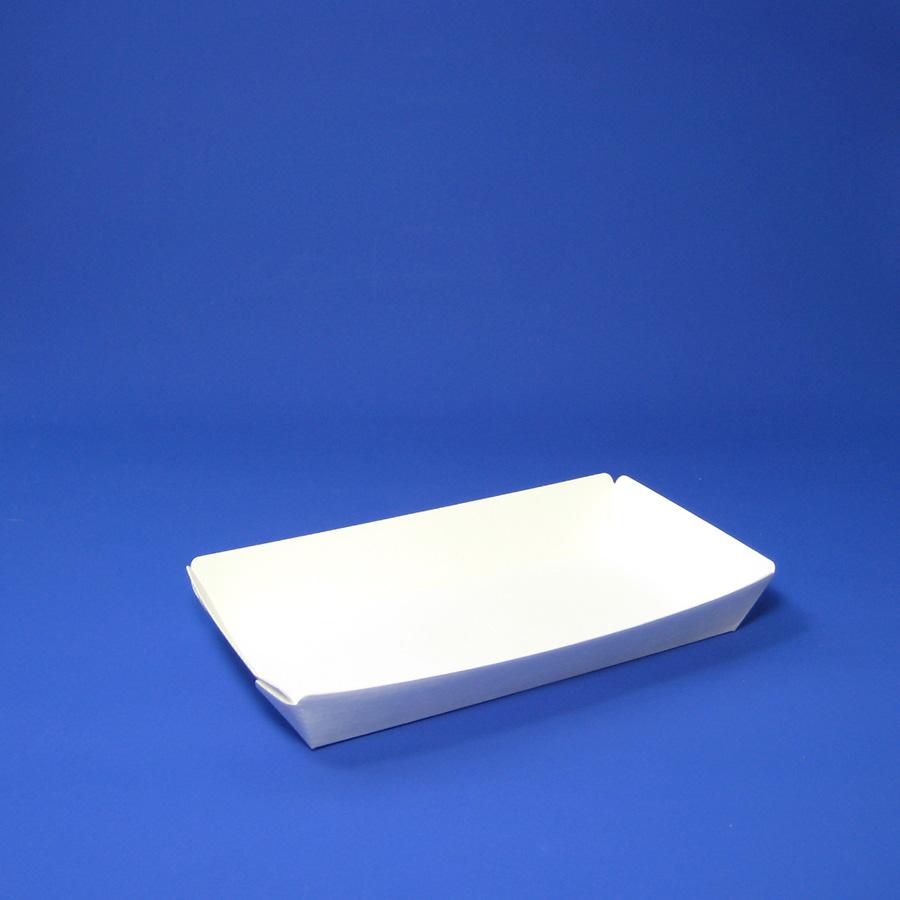 スナックトレイ無地 160×92×25mm 1000枚入り 耐水・耐油スナック四角形容器 SS-5 【テイクアウト・イベント・業務用・お祭り・使い捨て食品容器】