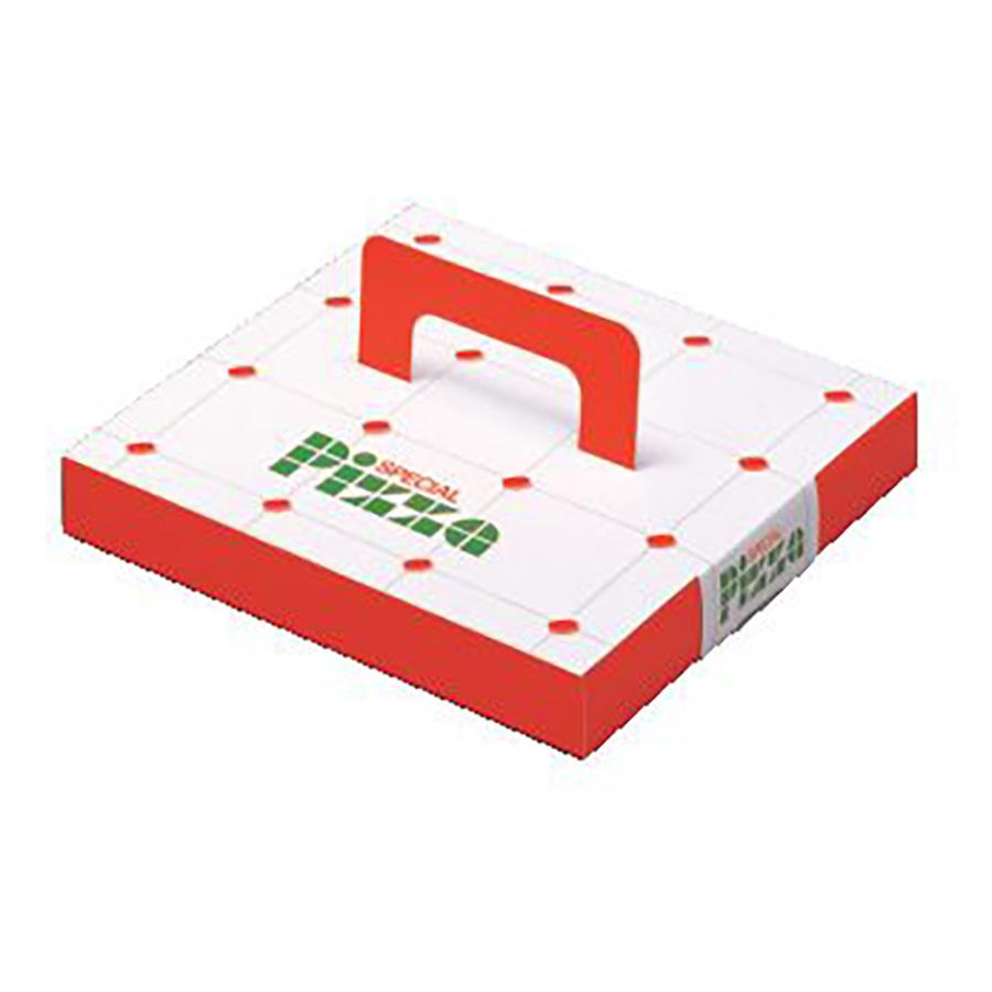 ピザ持ち帰り箱 215×215×30mm 300枚入り ピザパイスペシャル7インチ 【テイクアウト・イベント・業務用・お祭り・使い捨て食品容器】