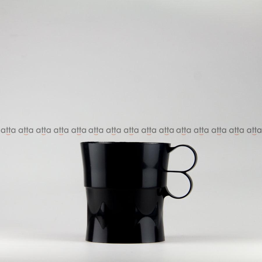 紙コップホルダー 7オンス用・200個 マルチカップホルダー黒 【テイクアウト・イベント・業務用・お祭り・使い捨て食品容器】