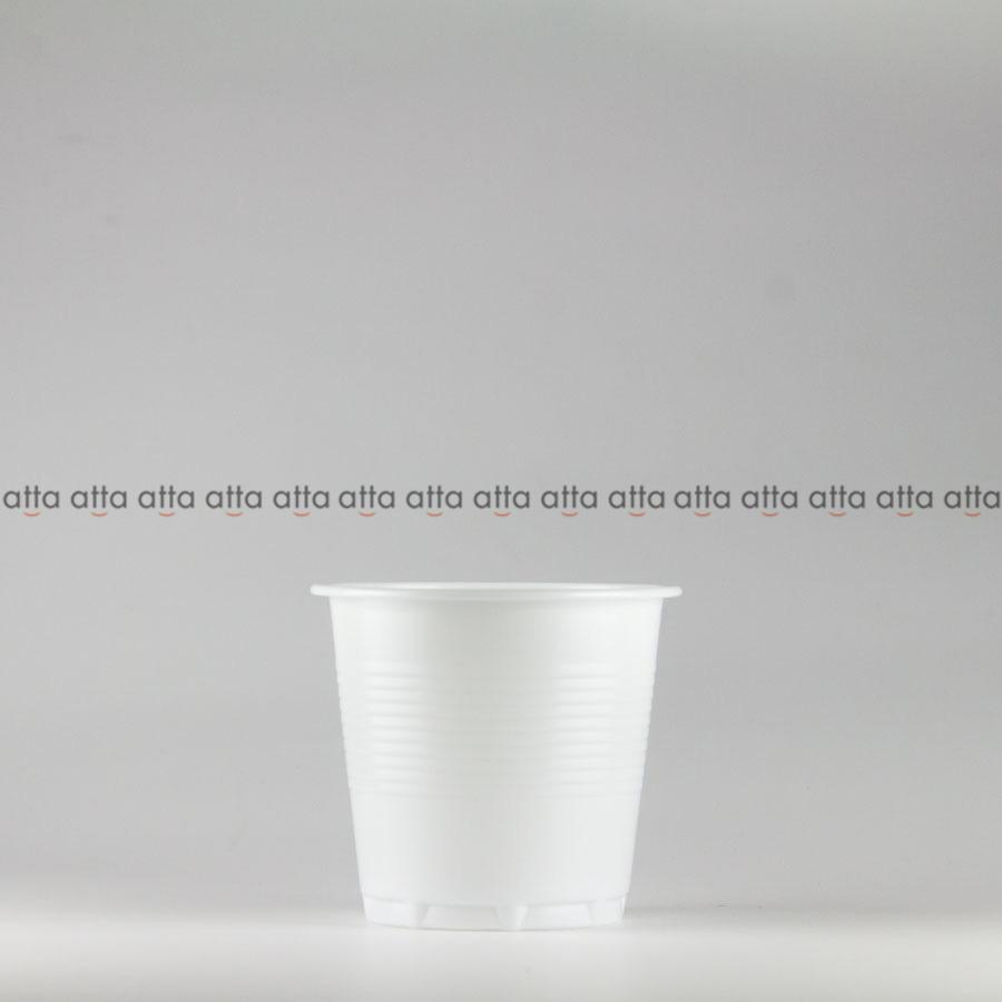 プラカップ 158ml(5オンス) 71mm口径 3000個 (PS製) 5オンスカップ白SNP【テイクアウト紙カップ・業務用・使い捨て食品容器】