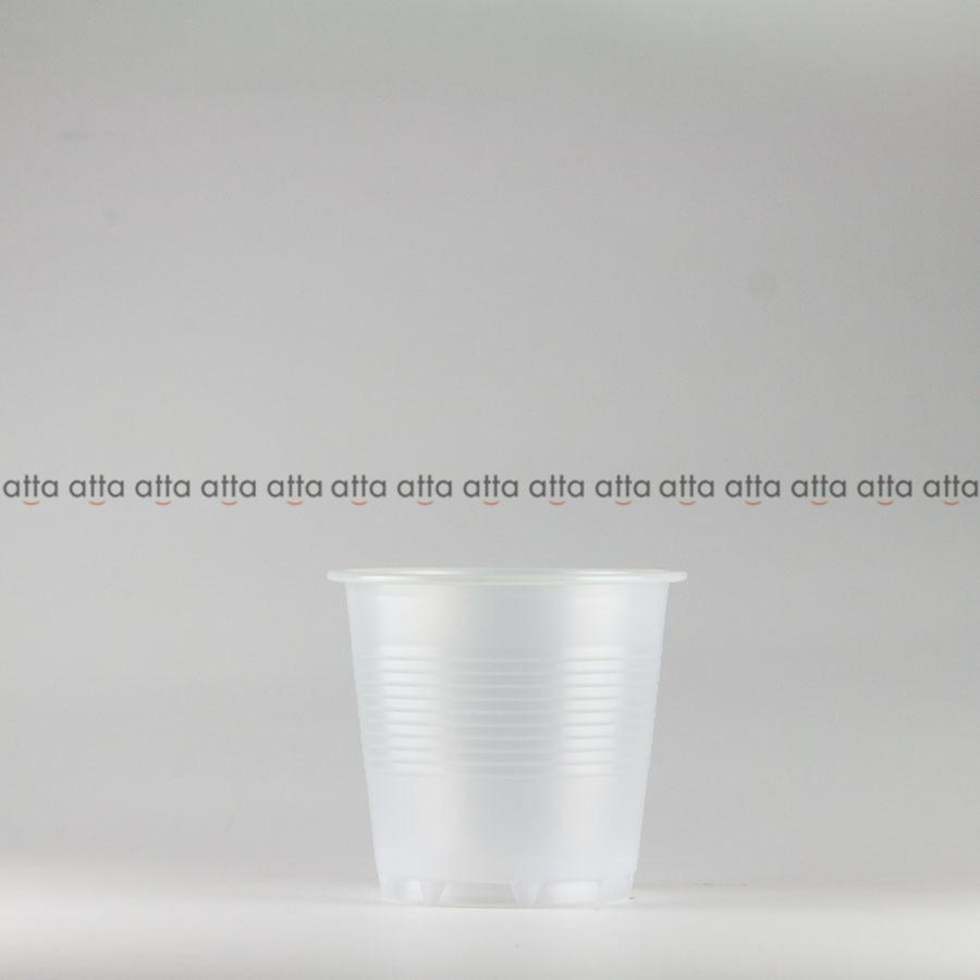 プラカップ 158ml(5オンス) 71mm口径 3000個 (PS製) 5オンスカップ半透明【テイクアウト紙カップ・業務用・使い捨て食品容器】