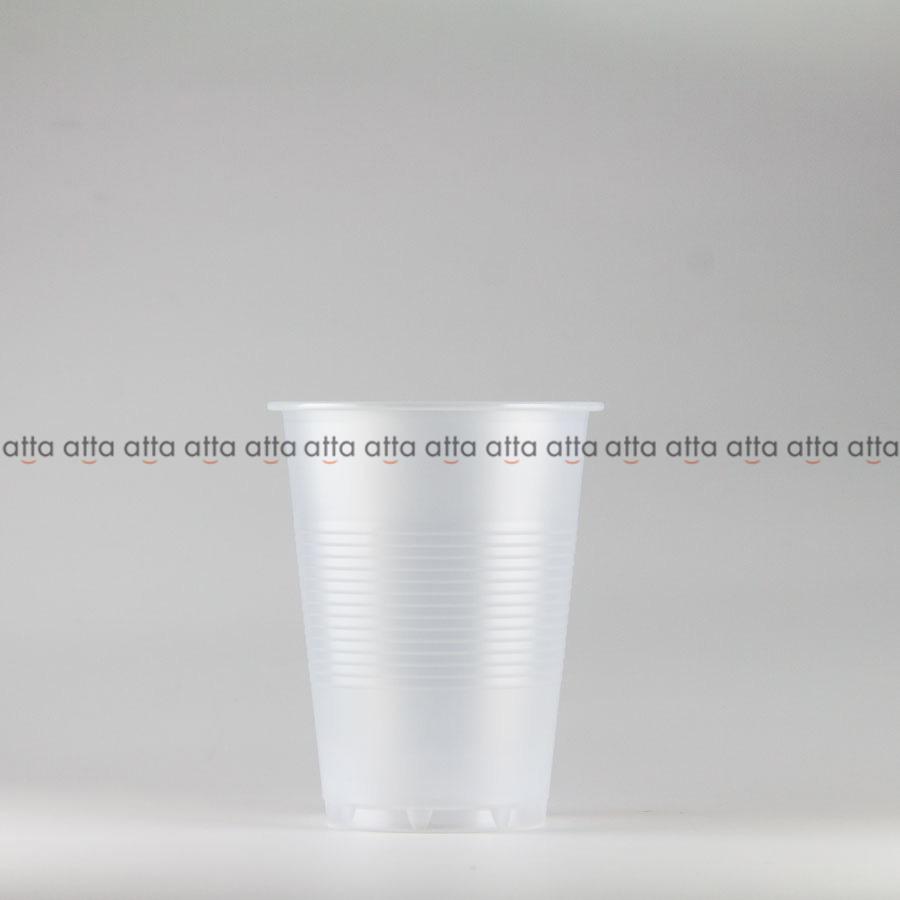 プラカップ 218ml(7オンス) 71mm口径 2500個 (PS製) 7オンスカップ半透明【テイクアウト紙カップ・業務用・使い捨て食品容器】