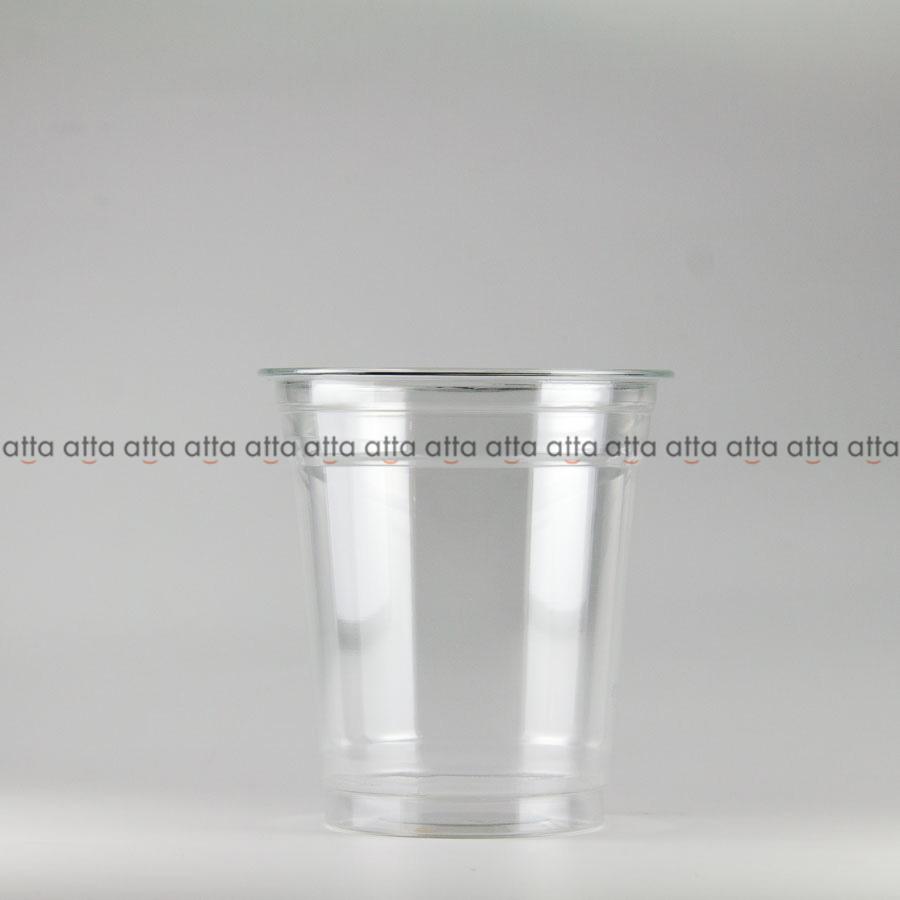 プラカップ 370ml(12オンス) 89mm口径 1000個 (PET製) クリアーカップ89-12オンス【テイクアウト紙カップ・業務用・使い捨て食品容器】