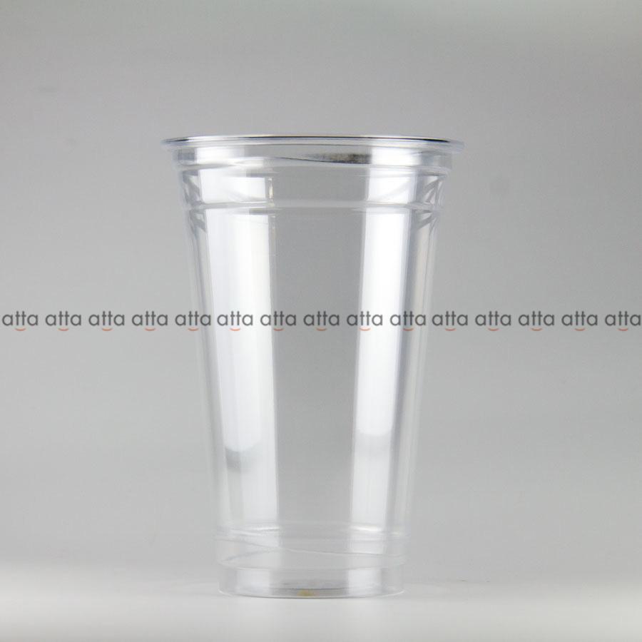 プラカップ 480ml(16オンス) 89mm口径 1000個 (PET製) クリアーカップ89-16オンスSNP【テイクアウト紙カップ・業務用・使い捨て食品容器】