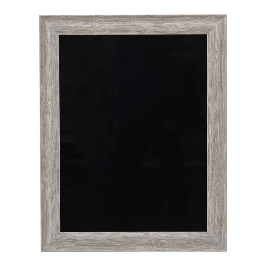 ハイクラスフレーム型ブラックボード(屋内用) 片面・マーカー用 W707xH557x18mm グリーングレイ DFB-101(大) えいむ(Aim)