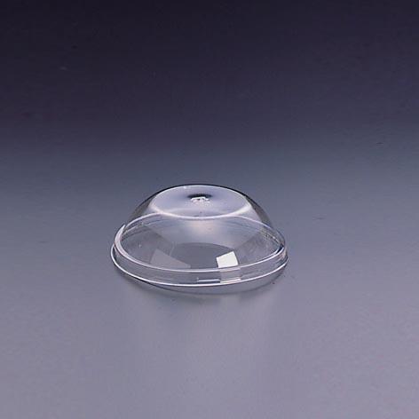 デザートカップ用フタ 口径88mm 2000個 ストロー穴なし L-88S ドーム蓋穴無