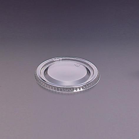 デザートカップ用フタ 口径96mm 2000個 ストロー穴なし L-96 平蓋穴無
