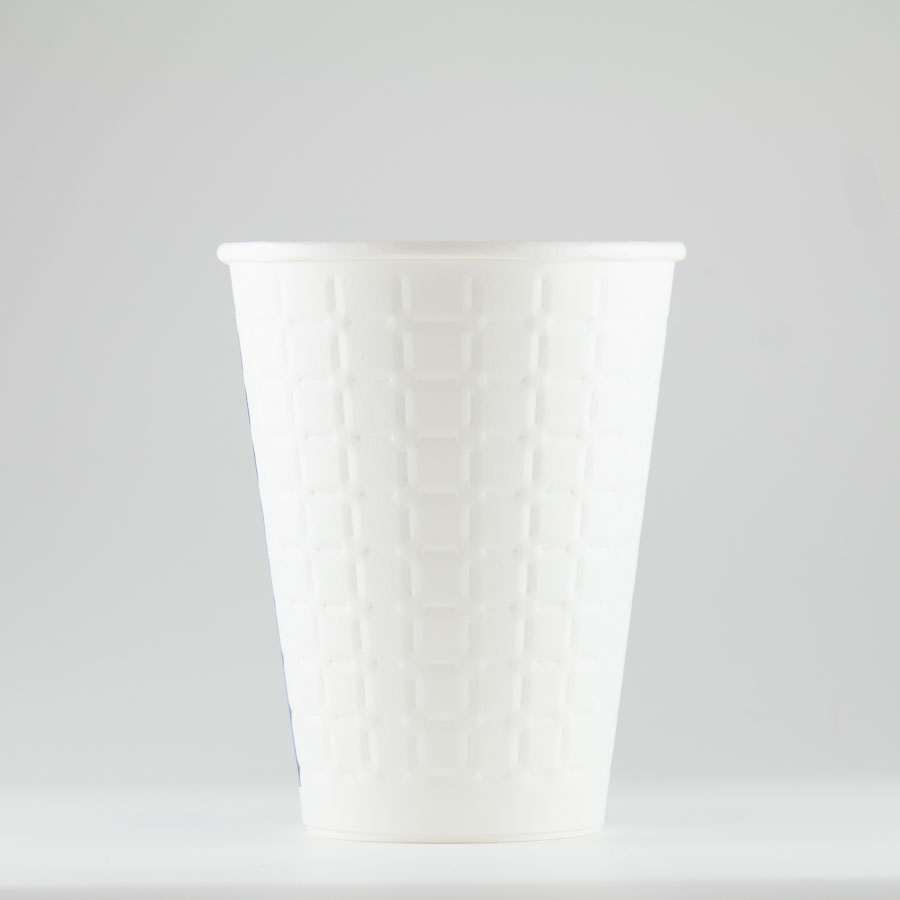 エンボス紙コップ 340ml(13オンス) 1000個 MDC-002 モデレカップ 耐熱無地 【テイクアウト・イベント・業務用・お祭り・使い捨て食品容器・紙カップ】
