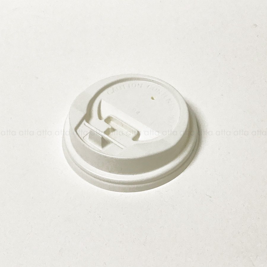 紙コップ用フタ 口径80mm 2000個 BMT-040 BMT(8オンス)専用リフトアップリッド白無地 【テイクアウト・業務用・使い捨て食品容器】