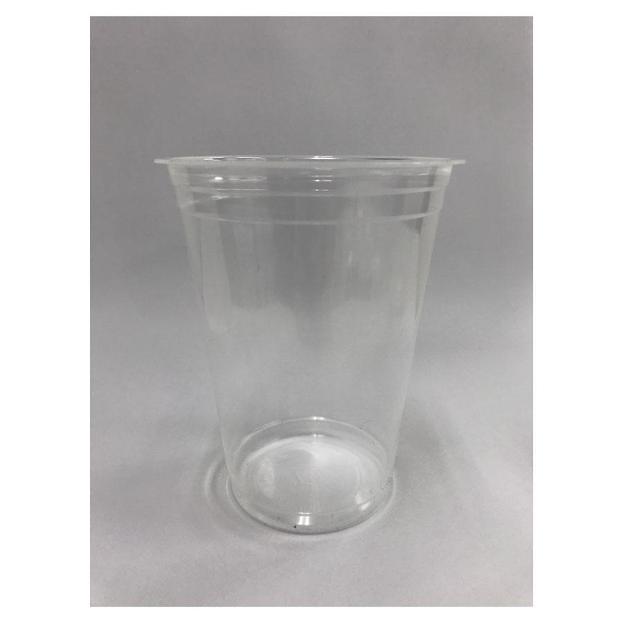 プラスチックカップ ※ホットドリンク対応 500ml 96mm口径 1000個(PP製) PP F500M無地