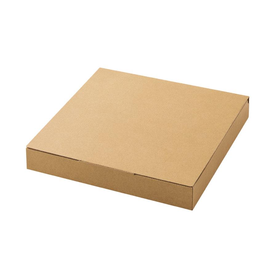 ピザボックス・ピザ箱 クラフトピザボックス31 クラフト 150個 310x310x45mm ※沖縄・離島 送料別途 R-1-1 ※代引き不可商品