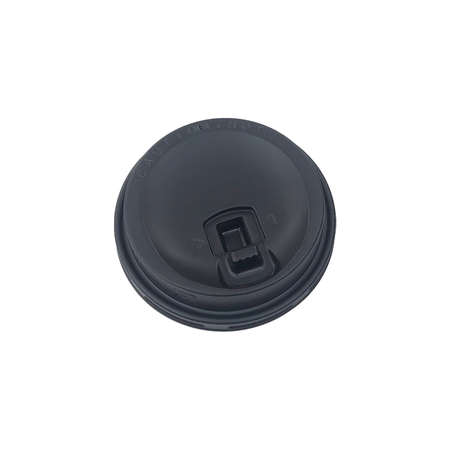 紙コップ用フタ 口径79.6mm 2000個 SMT-280-LF リフトアップリッド黒 SMT-280専用リッド 【テイクアウト・業務用・使い捨て食品容器】