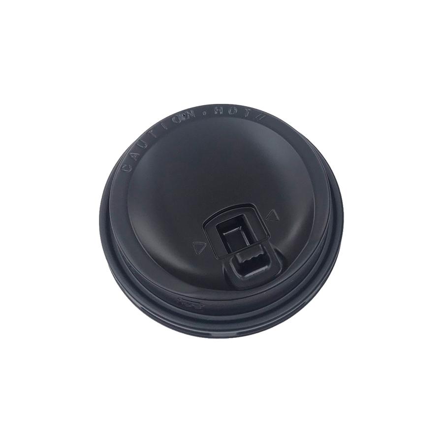 紙コップ用フタ 口径84.6mm 2000個 SMT-400-LF リフトアップリッド黒 SMT-400専用リッド 【テイクアウト・業務用・使い捨て食品容器】
