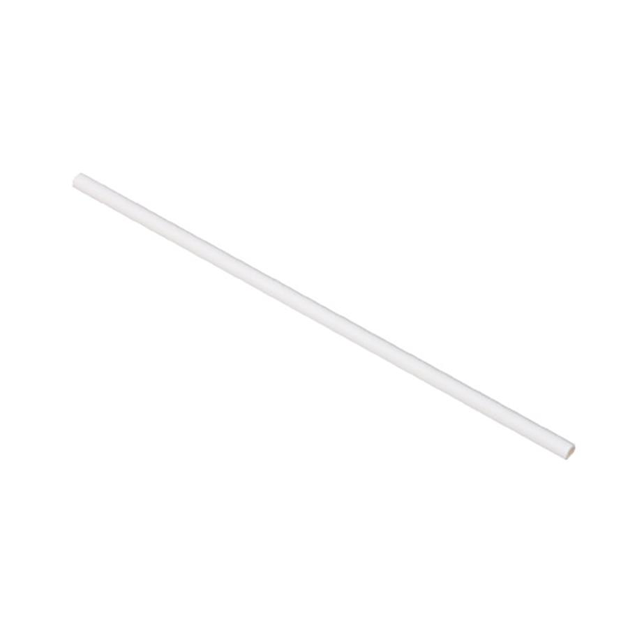 紙ストロー(裸)白 6mm×21cm 梱包なし 10,000本 SW06210-WH【テイクアウト・イベント・業務用・お祭り・使い捨て食品容器】