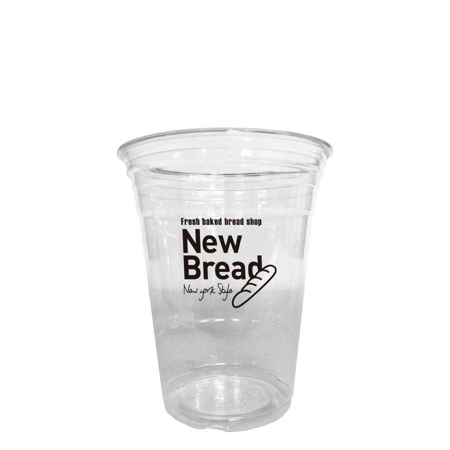 名入れプラカップ 1色5000個 16オンス(満杯:524ml) 98.4mm口径 HTB-16 naire プラスチックカップ ※納期校了後約30日※メールでのやり取りが必要です ※沖縄・離島 送料別途
