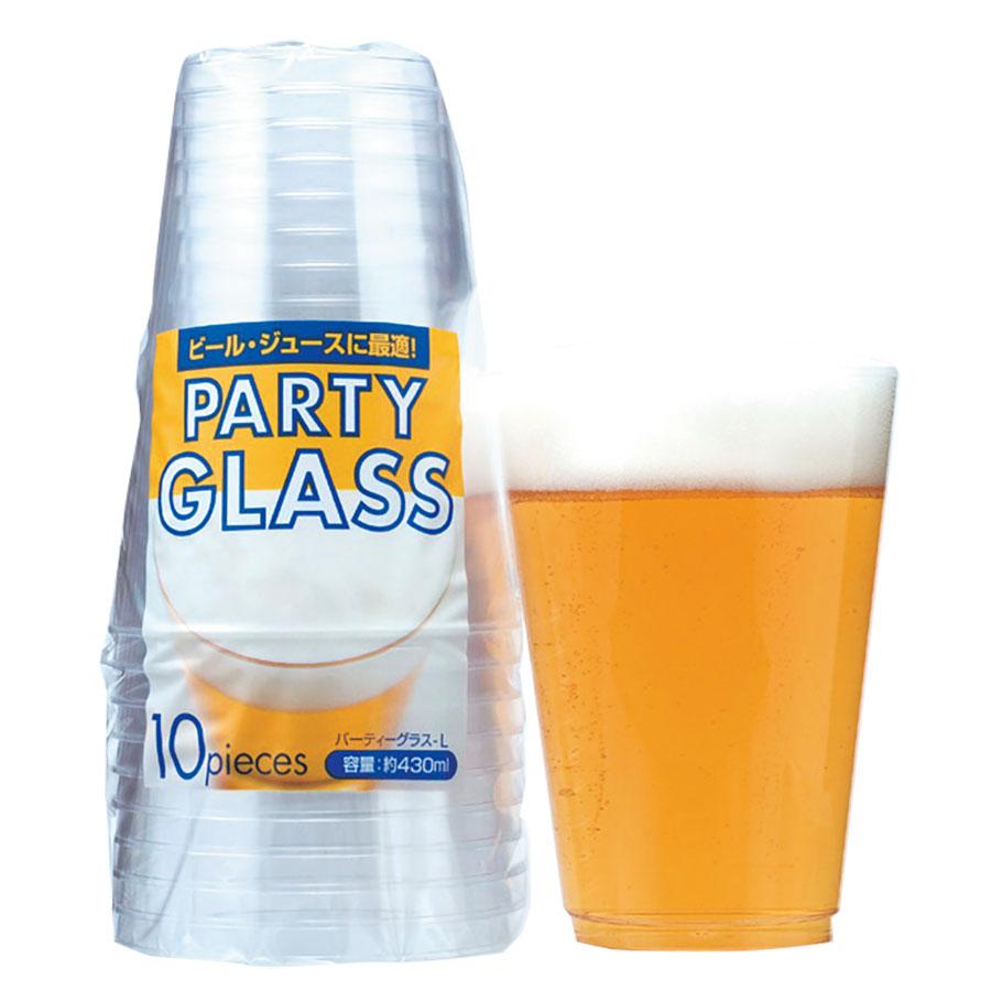 パーティーグラス(L) 430ml 600個 AP-45 アートナップ(ART NAP)【テイクアウト紙カップ・業務用・使い捨て食品容器】