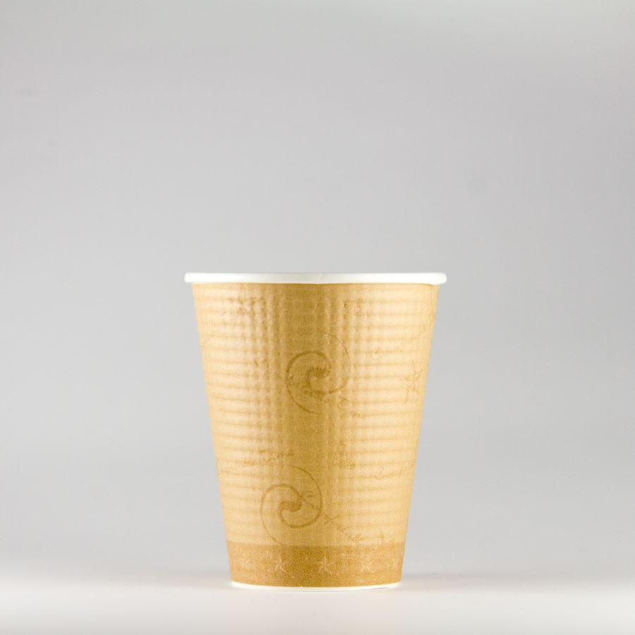 エンボス紙コップ 260ml(9オンス) 1500個 SMP-260E コンフォート 【テイクアウト・イベント・業務用・お祭り・使い捨て食品容器・紙カップ】