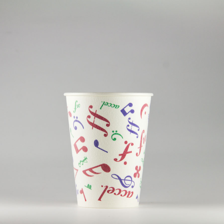 発泡断熱紙コップ 272ml(9.5オンス) 1000個 SM-275D メロディ 【テイクアウト・イベント・業務用・お祭り・使い捨て食品容器・紙カップ】