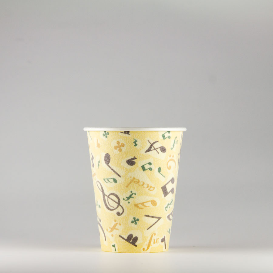 発泡断熱紙コップ 211ml(7オンス) 1500個 SM-205D カフェ・メロディ 【テイクアウト・イベント・業務用・お祭り・使い捨て食品容器・紙カップ】