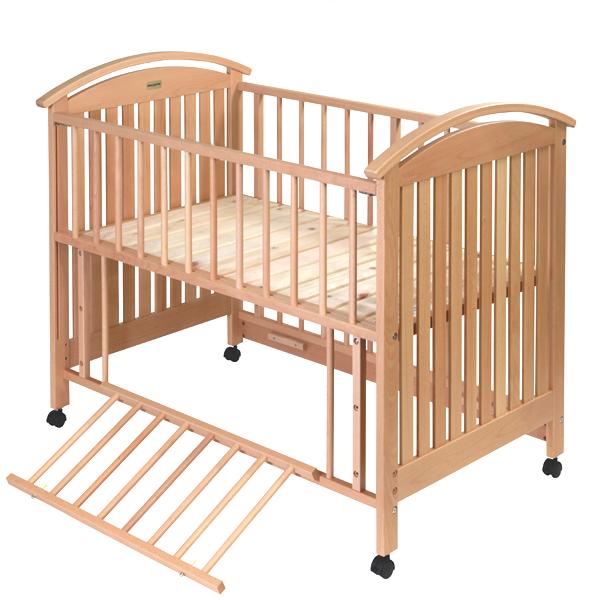 미키하우스(베이비) 목조 베이비 침대
