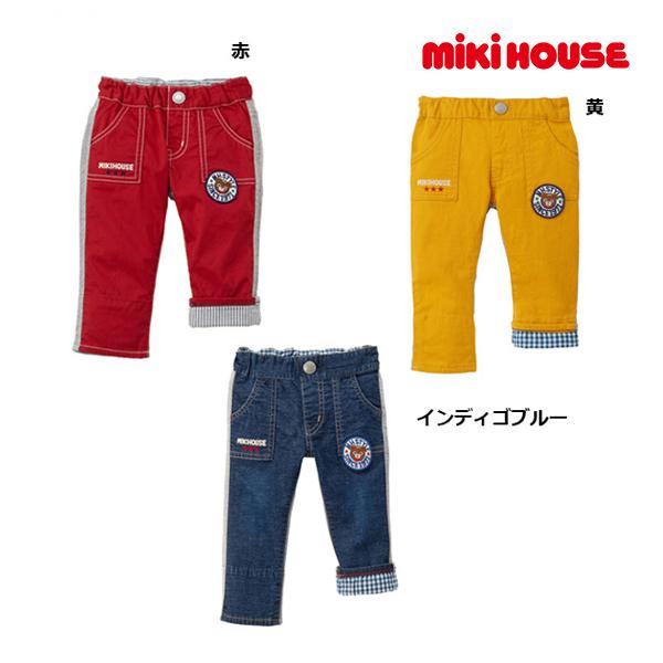 エントリーでポイント10倍!スーパーSALE期間中/ミキハウス正規販売店/ミキハウス mikihouse プッチー異素材パンツ(120cm)