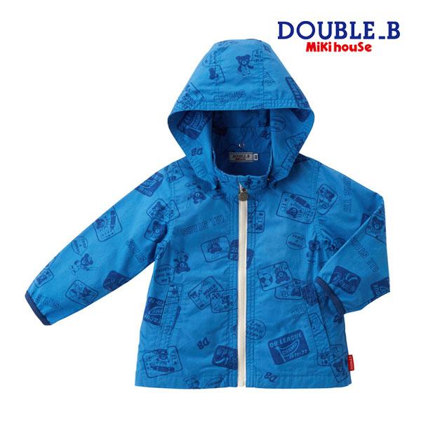ダブルB【DOUBLE B】アメコミ風プリントジャンパー(100cm・110cm)