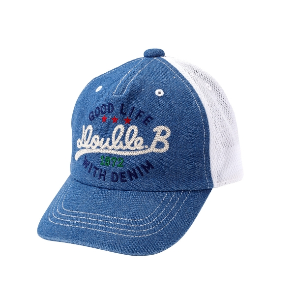 Miki house regular store / (for exclusive use of the overseas sale) Miki  house double B mikihouse cap (S-LL(48-56cm))
