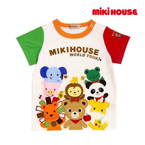 エントリーでポイント10倍!スーパーSALE期間中/ミキハウス正規販売店/ミキハウス mikihouse Tシャツ(110cm・120cm・130cm)