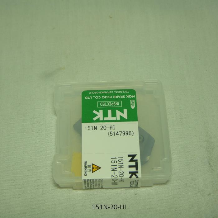 NTK ハイス・ドリル用チップ  スローアウェイドリル用ハイスDrillTip 151N-20-HI