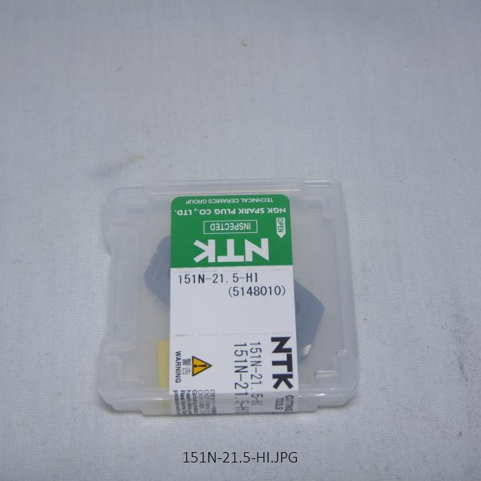 NTK ハイス・ドリル用チップ  スローアウェイドリル用ハイスDrillTip 151N-21.5-HI