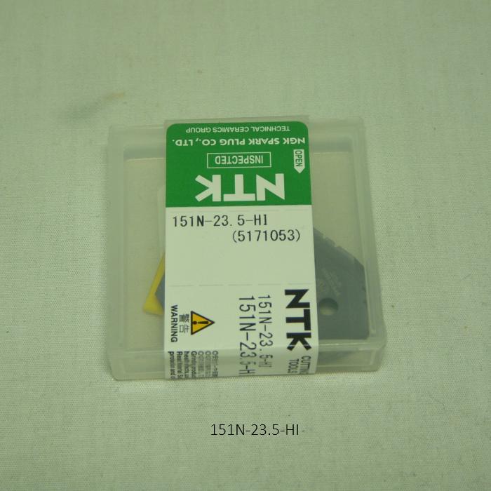 NTK ハイス・ドリル用チップ  スローアウェイドリル用ハイスDrillTip 151N-23.5-HI