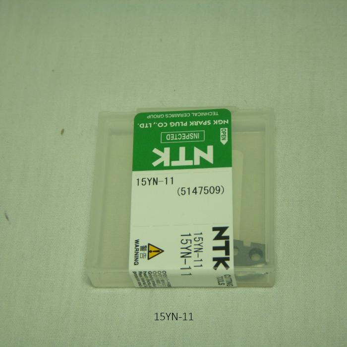NTK ハイス・ドリル用チップ  スローアウェイドリル用ハイスDrillTip 15YN-11