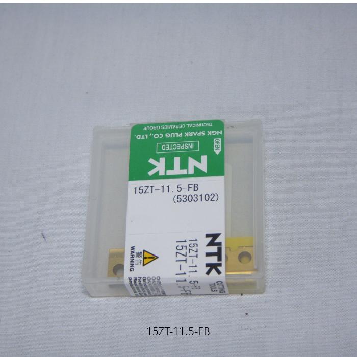 NTK ハイス・ドリル用チップ  スローアウェイドリル用 平底チップ 15ZT-11.5-FB