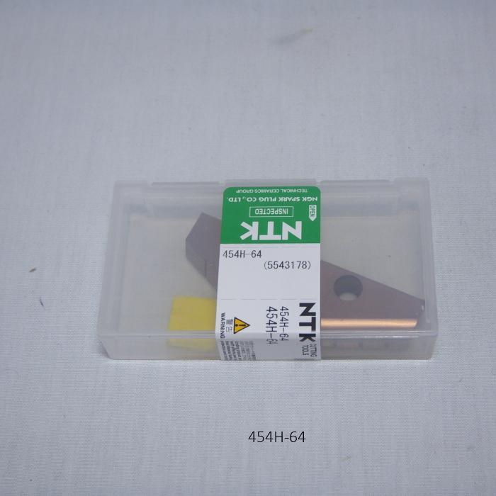NTK ハイス・ドリル用チップ  スローアウェイドリル用ハイスDrillTip 454H-64