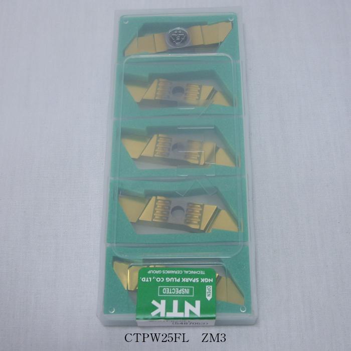 NTK バイト用チップ SSバイト CTPW型用TA CTPW25FL PVDコーテッド超硬 ZM3