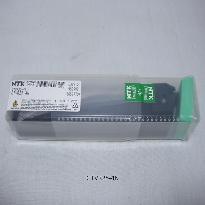 NTK 溝入れバイト用ホルダ ホルダ外径溝入れGTバイト GTV GTVR25-4N