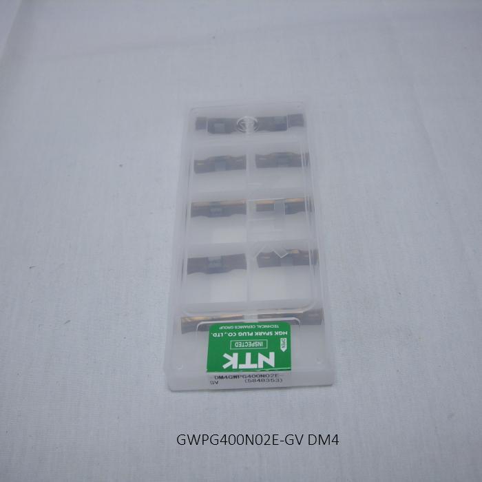 NTK バイト用チップ SCRUM DUO ホルダ用TA GWPG400N02E-GV PVDコーテッド超硬 DM4