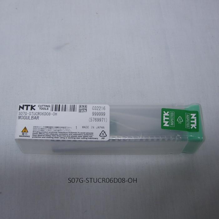 NTK ボーリングバイト用ホルダ ホルダ ボーグルバーT型 鋼シャンク S07G-STUCR06D08-OH