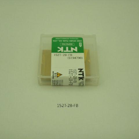 NTK ハイス・ドリル用チップ スローアウェイドリル用 平底チップ 152T-28-FB