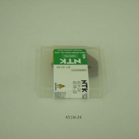 NTK ハイス・ドリル用チップ スローアウェイドリル用 451H-24