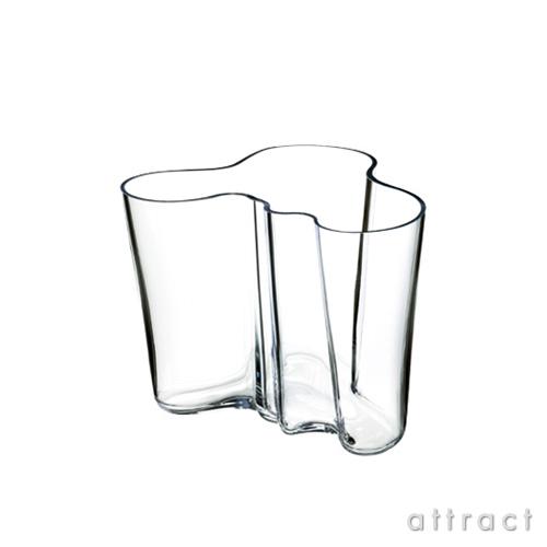イッタラ iittala AALTO アアルト フラワーベース Mサイズ 120mm カラー:クリア ホワイト ガラス製品 花瓶 花器 北欧 【smtb-KD】