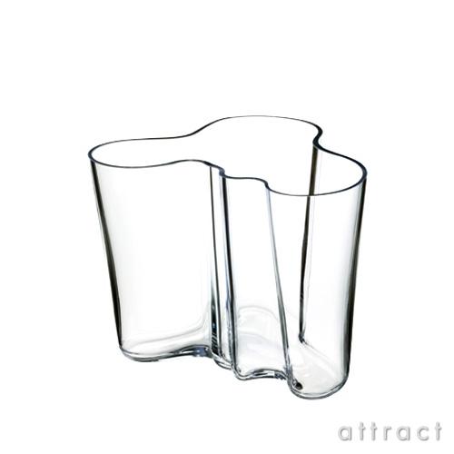 イッタラ iittala AALTO アアルト フラワーベース Lサイズ 160mm カラー:クリア ホワイト ガラス製品 花瓶 花器 北欧 【smtb-KD】