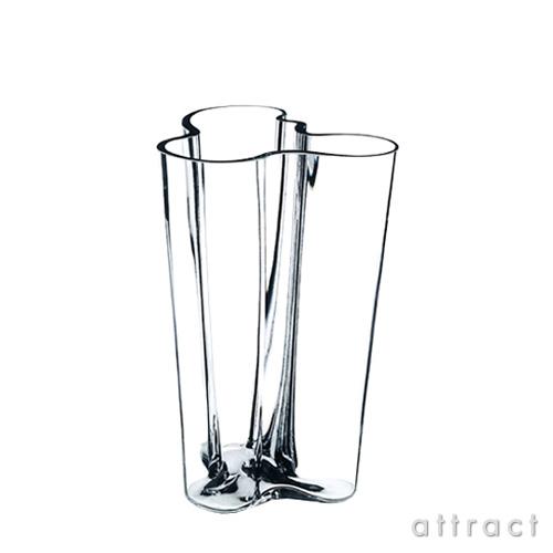 イッタラ iittala AALTO アアルト フラワーベース フィンランディア Mサイズ 200mm カラー:クリア ホワイト ガラス製品 花瓶 花器 北欧 【smtb-KD】