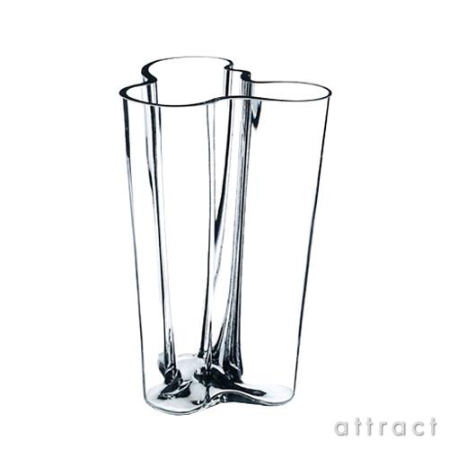 イッタラ iittala AALTO アアルト フラワーベース フィンランディア LLサイズ 250mm カラー:クリア ホワイト ガラス製品 花瓶 花瓶 北欧 【smtb-KD】