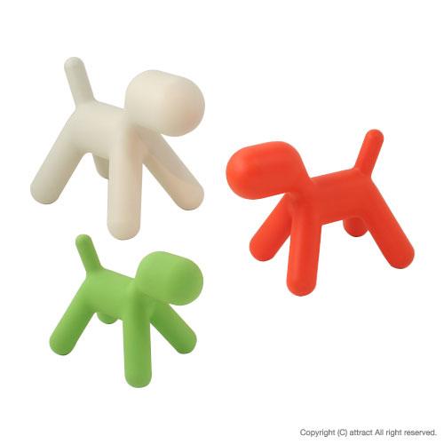 マジス MAGIS 【正規取扱店】 me too collection ミートゥー コレクション Puppy パピー キッズオブジェ Mサイズ カラー:グリーン オレンジ ホワイト 【smtb-KD】