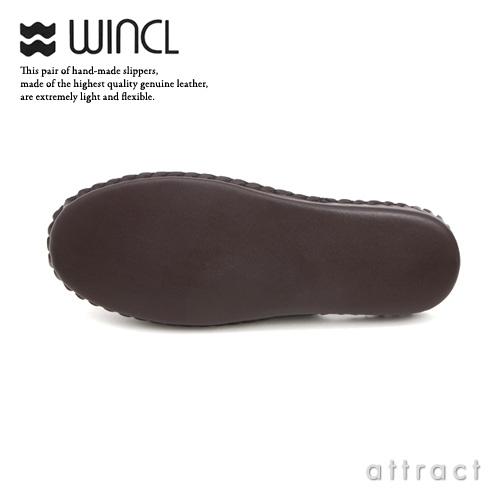 WINCL 윈크루 Leather Slippers 레더 슬리퍼 스테어가죽 가죽 슬리퍼 칼라:전5색 3 사이즈 룸 슈즈 실내 신어 수험 설명회 면접 인테리어 자택용 손님용