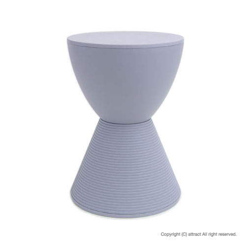 カルテル 高知 Kartell Prince AHA プリンスアハ プリンス アハ スツール 椅子 PRI-8810 カラー:ラベンダーグレー デザイナー:フィリップ・スタルク デザイナーズ モダン 【smtb-KD】
