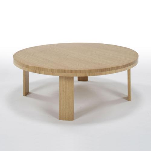 テオリ TEORI 竹集成材プロジェクト 竹装 ちゃぶ台 丸形φ900mm