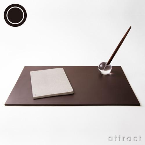 100% ヒャクパーセント Leather Desk Mat S レザーデスクマット S カラー:ブラック ダークブラウン GL-03 デザイン:坪井 浩尚 【smtb-KD】【HLS_DU】