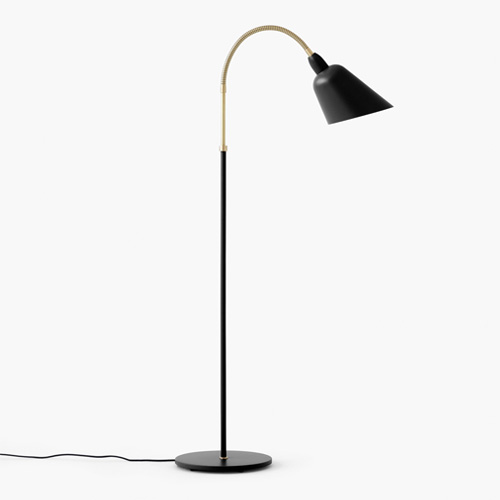 アンド トラディション &Tradition ベルビュー フロア ランプ BELLEVUE FLOOR LAMP AJ7 デザイナーズ 照明 カラー:ブラック デザイン:アルネ・ヤコブセン 【smtb-KD】  【HLS_DU】